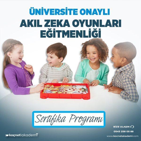 akıl zeka oyunları eğitimi sertifikası