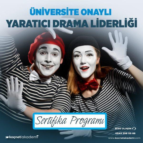 yaratıcı drama liderliği eğitimi sertifikası