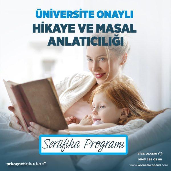 hikaye ve masal anlatıcılığı eğitimi sertifikası