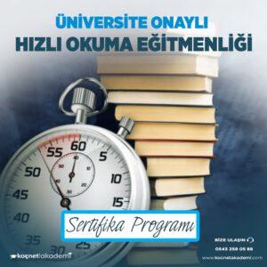 hızlı okuma eğitimi sertifikası