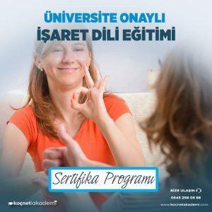işaret dili eğitimi sertifikası