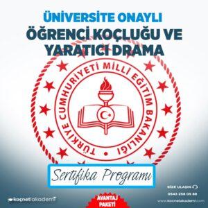 öğrenci koçluğu ve yaratıcı drama eğitimi sertifikası