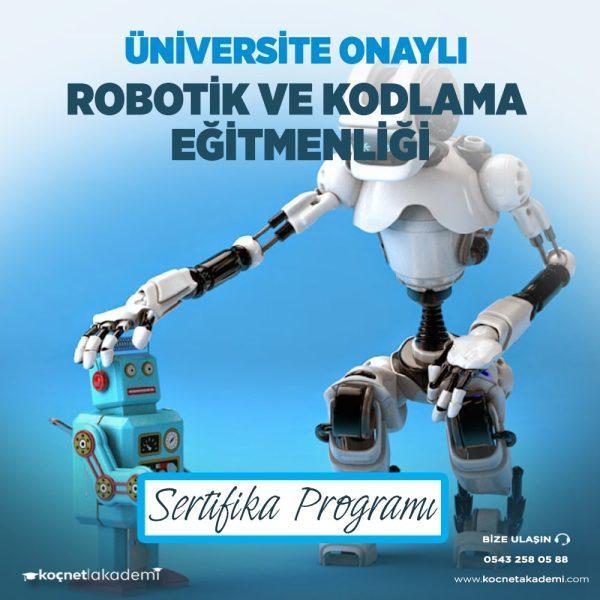 robotik ve kodlama eğitimi sertifikası