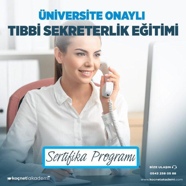 tıbbi sekreterlik eğitimi sertifikası
