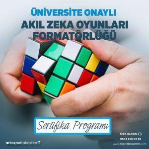 akıl zeka oyunları formatörlüğü eğitimi sertifikası