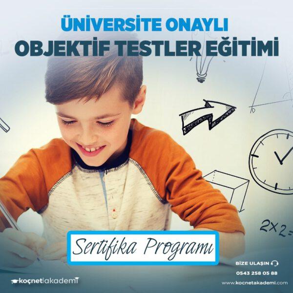 Objektif Testler Eğitimi Sertifikası