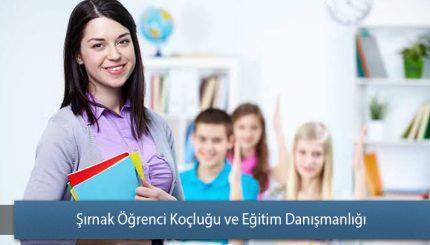 Şırnak Öğrenci Koçluğu ve Eğitim Danışmanlığı