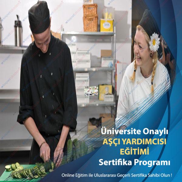 aşçı yardımcılığı eğitimi