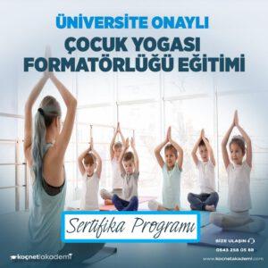çocuk yogası eğitici eğitimi sertifikası