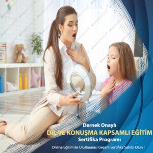 dil ve konuşma ses bozuklukları eğitimi sertifikası