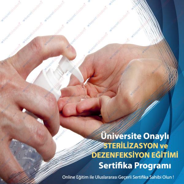 Sterilizasyon ve Dezenfeksiyon Eğitimi Sertifikası