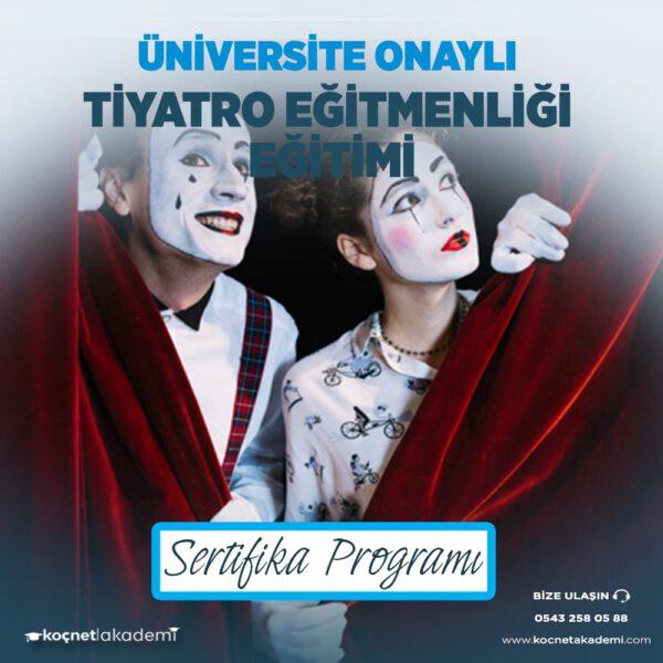 Tiyatro eğitmenlik eğitimi