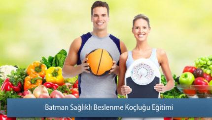 Batman Sağlıklı Beslenme Koçluğu Eğitimi Sertifikası