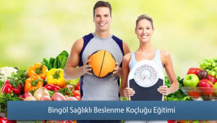 Bingöl Sağlıklı Beslenme Koçluğu Eğitimi Sertifikası