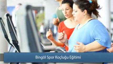 Bingöl Spor Koçluğu Eğitimi İle Yeni bir Meslek