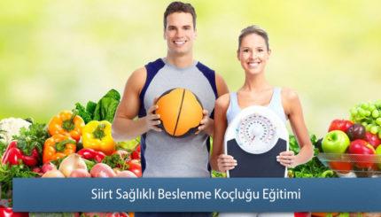 Siirt Sağlıklı Beslenme Koçluğu Eğitimi Sertifikası