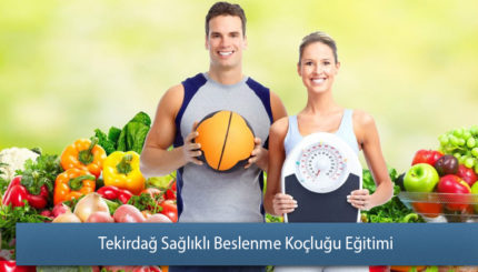 Tekirdağ Sağlıklı Beslenme Koçluğu Eğitimi Sertifikası
