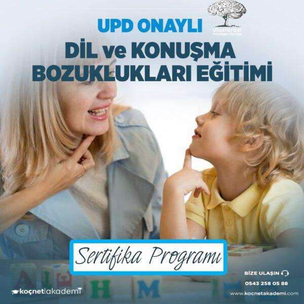 dil ve konuşma bozuklukları eğitimi sertifikası