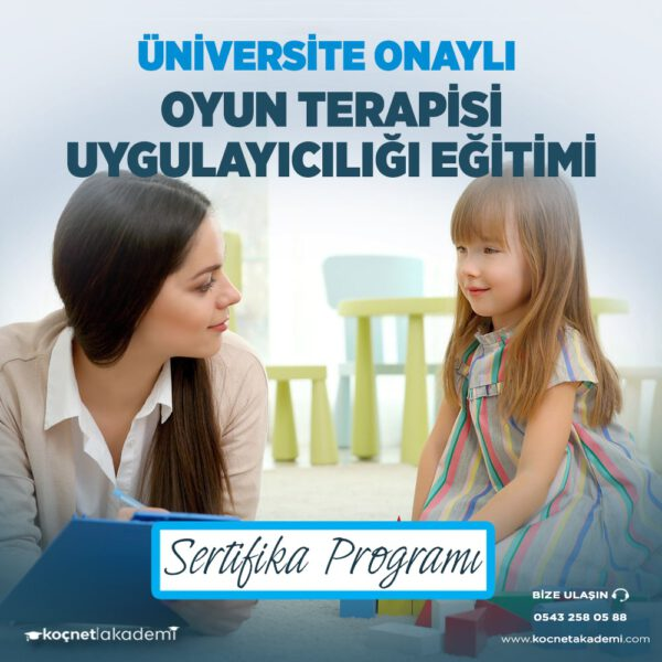oyun terapisi eğitimi sertifikası
