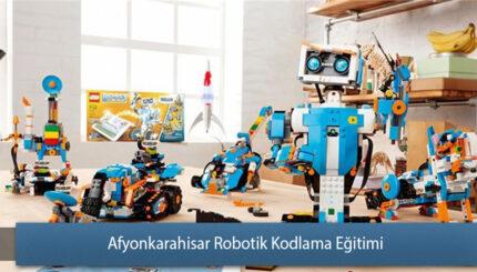 Afyonkarahisar Robotik ve Kodlama Eğitimi Sertifikası