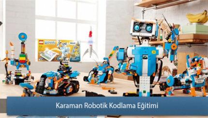 Karaman Robotik ve Kodlama Eğitimi Sertifikası