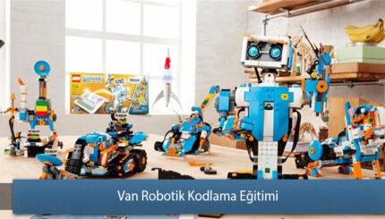 Van Robotik ve Kodlama Eğitimi Sertifikası