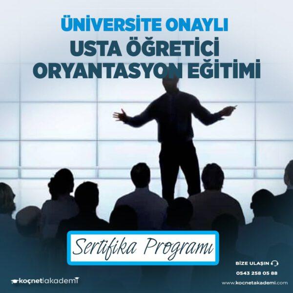 usta öğretici oryantasyon eğitimi sertifikası