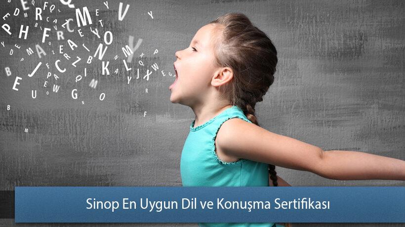 Sinop En Uygun Dil ve Konuşma Sertifikası