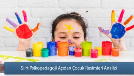 Siirt Psikopedagoji Açıdan Çocuk Resimleri Analizi