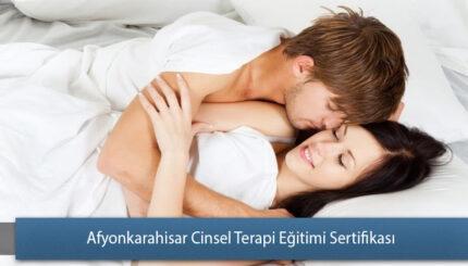 Afyonkarahisar Cinsel Terapi Eğitimi Sertifika