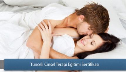Tunceli Cinsel Terapi Eğitimi Sertifika