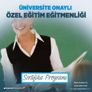 ücretli öğretmenlere özel eğitim sertifikası