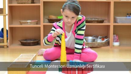 Tunceli Montessori Uzmanlığı Sertifikası