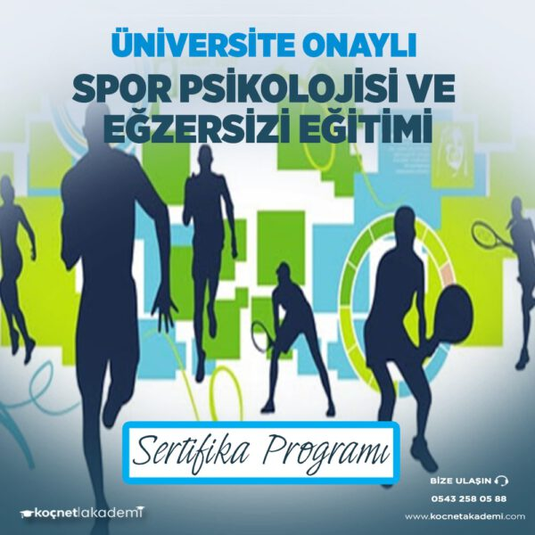 Spor Psikolojisi ve Egzersiz Uygulama Eğitimi Sertifikası