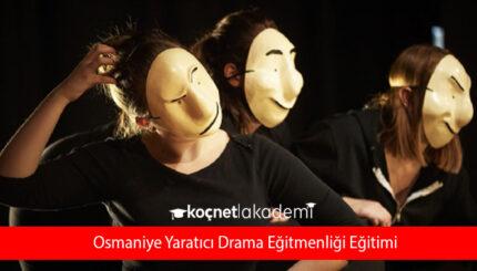 Osmaniye Yaratıcı Drama Eğitmenliği Eğitimi