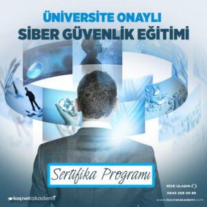 siber güvenlik eğitimi sertifika