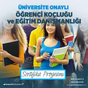 Eğitim Danışmanlığı sertifikası, Profesyonel Öğrenci Koçluğu sertifikası