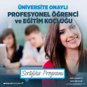 Profesyonel Öğrenci ve Eğitim Koçluğu Sertifikası