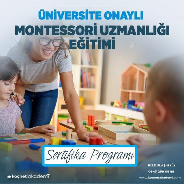 Montessori Uzmanlığı Eğitimi Sertifikası