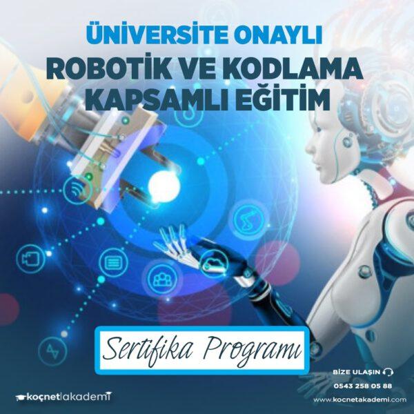 robotik ve kodlama eğitmenliği eğitimi